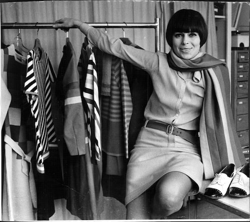 Gunilla Pontén fotograferad 1966. Foto: TT