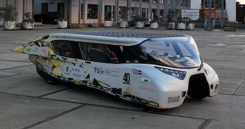 Gänget bakom Lightyear One har stenkoll på solcellsdrivna fordon.