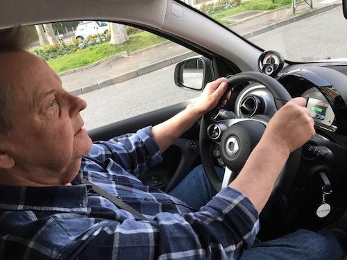 Att köra Smart Fourtwo Electric Drive är en enkel sak och du behöver egentligen ingen tillvänjning alls.
