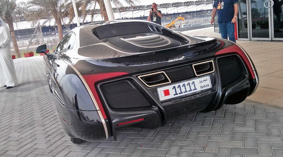 Märkliga McLaren X-1