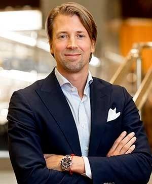 Andreas Edström, varuhuschef på NK i Stockholm.