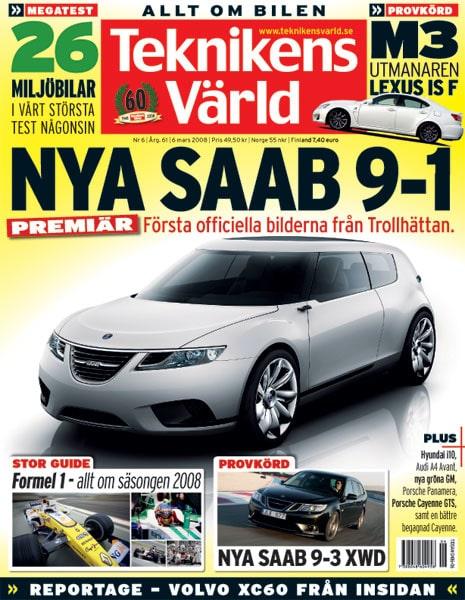 Teknikens Värld nummer 6 / 2008