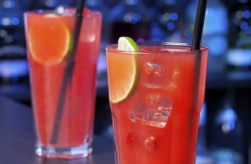 En härligt svalkande drink för sommarväder