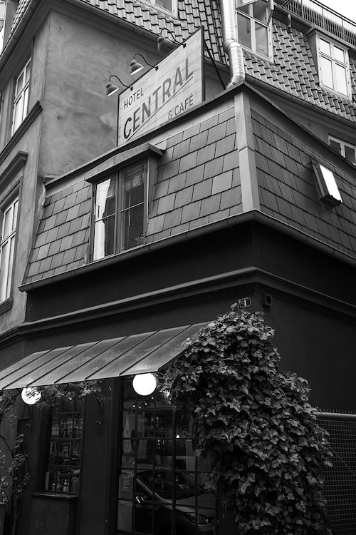 Central Hotel & Café i Köpenhamn.