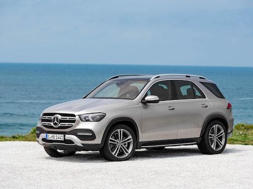 Nya Mercedes GLE.