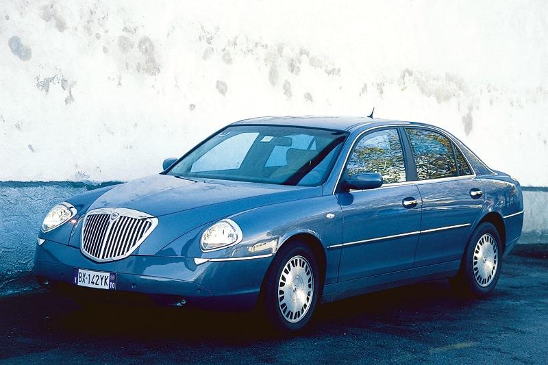 Provkörning av Lancia Thesis