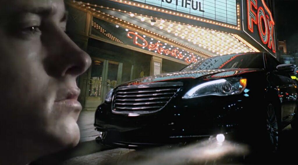 Eminem Chrysler Detroit