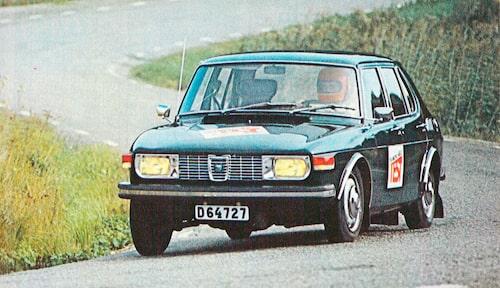 Teknikens Värld lät genast Saab 99 4d få bekänna färg i ett tufft test.
