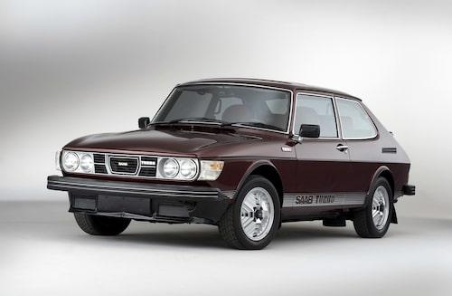 Saab 99 Turbo som tredörrars Combi Coupé-modell av USA-typ.