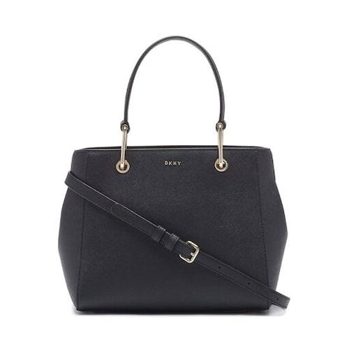 Svart top handle-väska från DKNY.