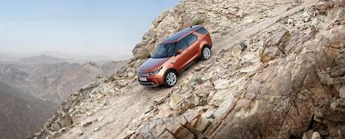 Nya Land Rover Discovery bör vara riktigt duglig i terräng då den har bättre tekniska förutsättningar än sin föregångare.