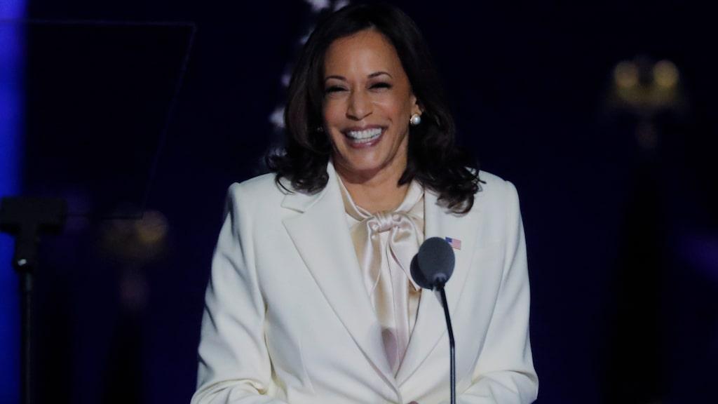 Kamala Harris har blivit historisk i och med att hon valts till vicepresident i USA; hon är den första kvinnan som har det jobbet.