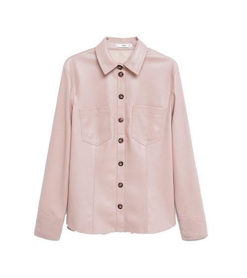 Rosa skjorta från Mango. Klicka på bilden och kom direkt till skjortan.