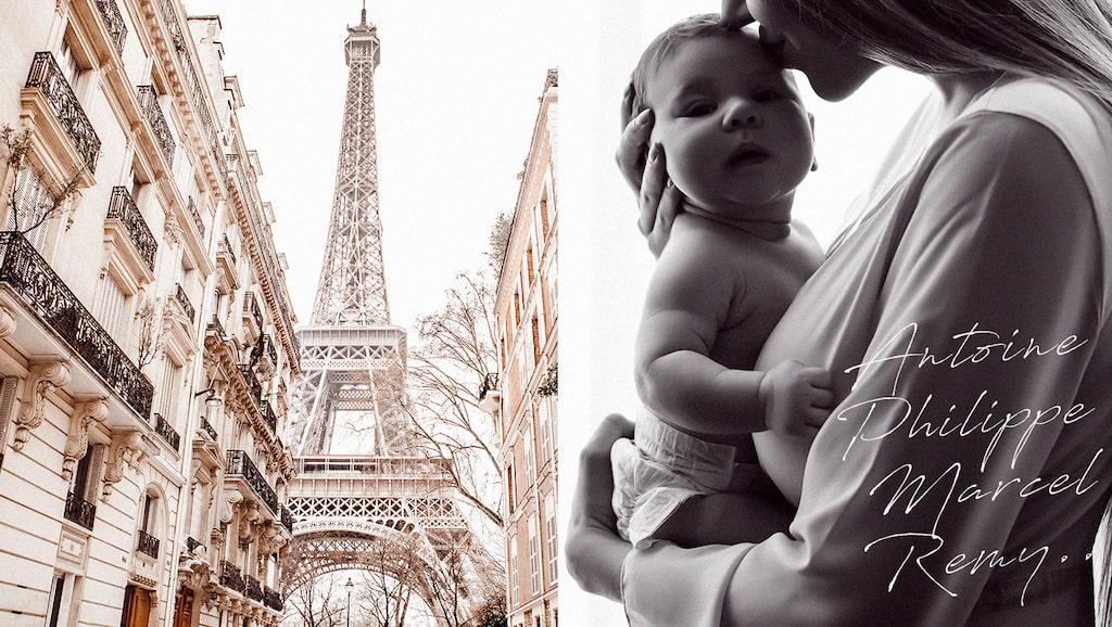 Varför inte ge den lilla flickan eller pojken ett franskt namn?