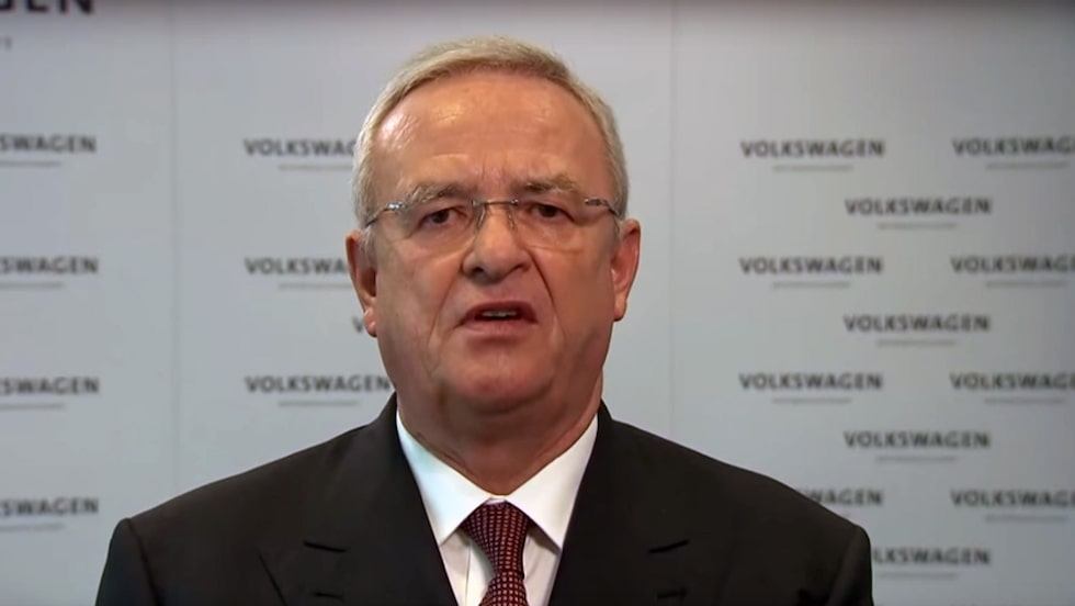 Martin Winterkorn var vd för Volkswagen AG fram till en vecka efter avslöjandet om att företaget hade fuskat med utsläppen hos elva miljoner dieselbilar.
