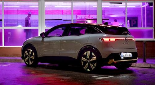 Renaults nya elbil, en av de mer intressanta nyheterna på bilsalongen i München, enligt Jan-Erik Berggren.