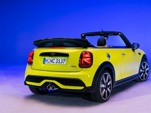 Mini Cabrio och dess syskon uppdaterades nyligen.