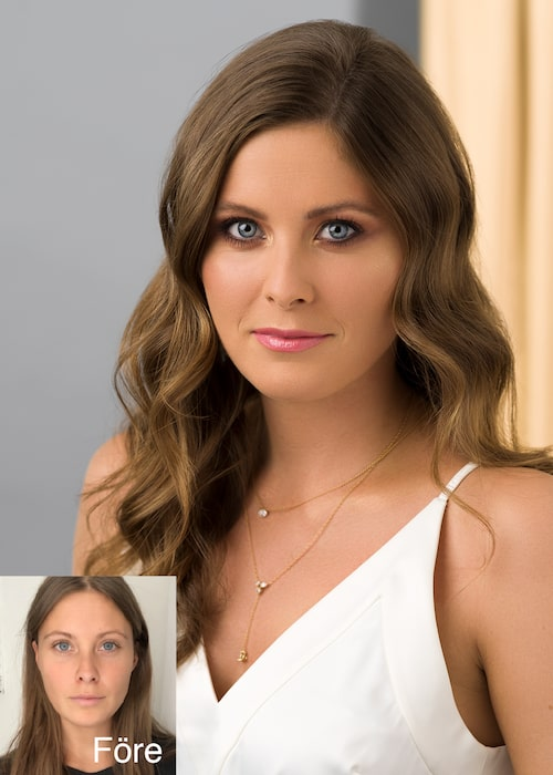 """Rebecka Raneby: """"Miracle Second Skin ger mig naturlig täckning och perfekt lyster."""""""