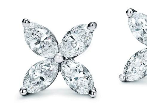 Diamantörhängen från Tiffanys