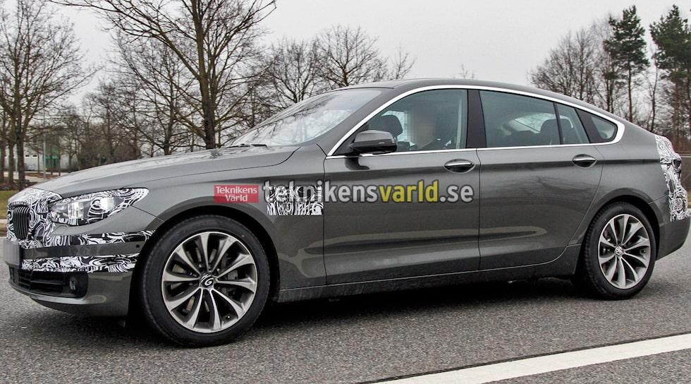 BMW 5-serie GT facelift