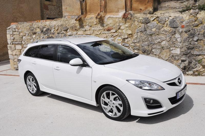 Provkörning av Mazda 6 2,0 Kombi
