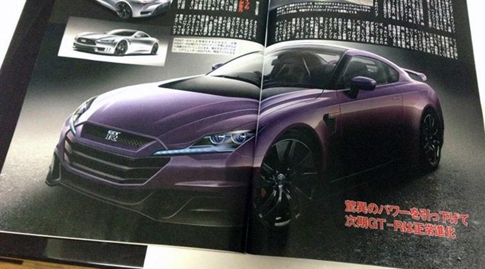 Nya Nissan GT-R R36