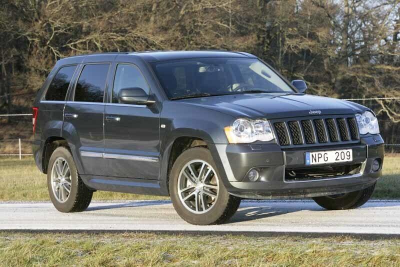 Provkörning av Jeep Grand Cherokee 3,0 CRD Limited S