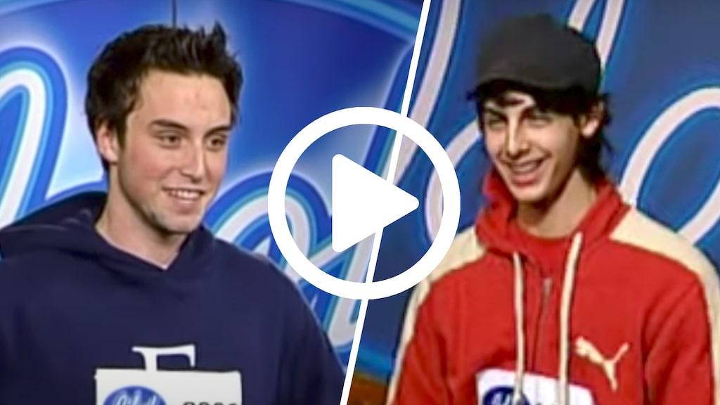 Varken Måns eller Darin vann Idol. Men folkkära blev de verkligen. Se deras underbara auditions.