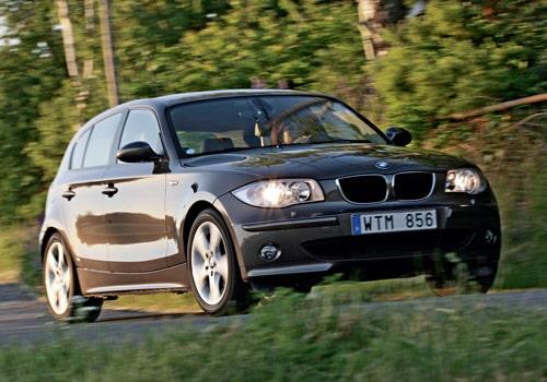 Provkörning av BMW 120d