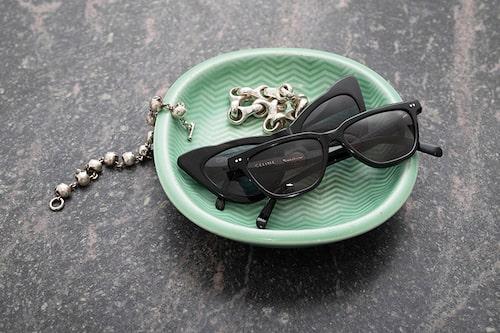 """""""Solglasögon från Celine och Ganni. Armband från Ole Lynggaard och vintage."""""""