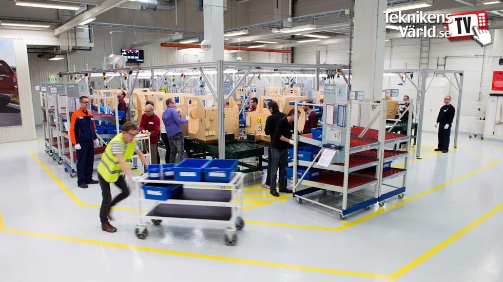 Vi bygger Volvo-lådbilar på Torslandaverken