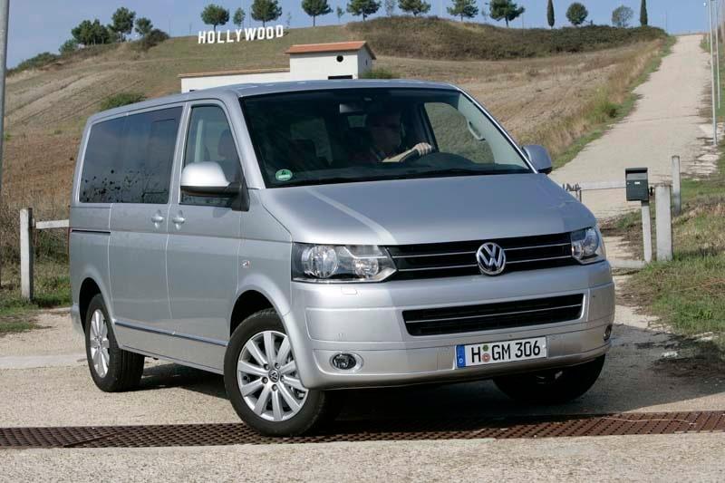 Provkörning av Volkswagen Multivan 180 TDI.
