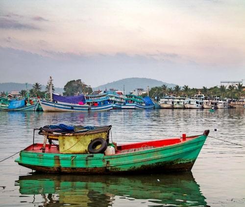 Havet, bergen, grönskan... Phu Qouc är ett relativt orört paradis.