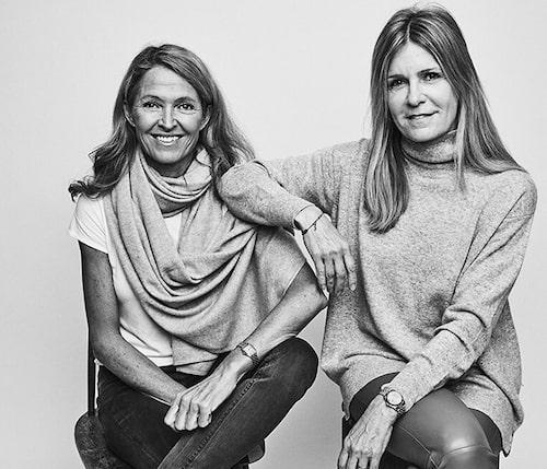 Karin Ramberg och Filippa Johansson.
