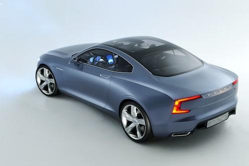Nej, detta är inte Polestar 1 utan Volvo Concept Coupé från 2013.