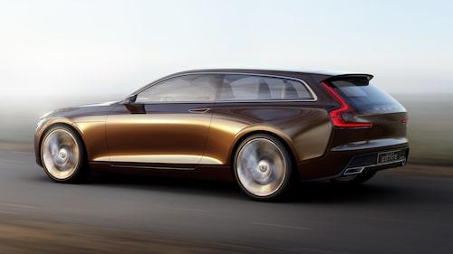 Volvo Concept Estate presenterades i slutet av februari 2014. Den föll då många i smaken, inte bara i Sverige. Lika linjeskön blev inte produktionsbilen, det vill säga Volvo V90.