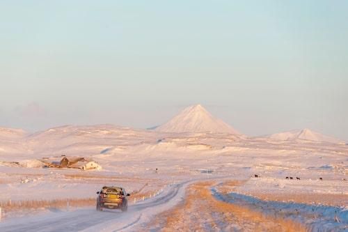 Landets namn till trots är snö och kyla ingen självklarhet på Island. Klimatet är som i Sverige.