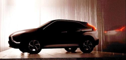 För några dagar sedan släppte Mitsubishi denna så kallade teaserbild som tydligt visar att uppdaterade Eclipse Cross blir av med den bakdel som till dags datum har varit en vattendelare.