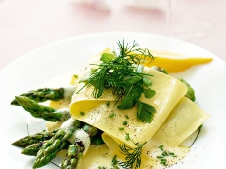 Lasagne, öppen, vegetarisk