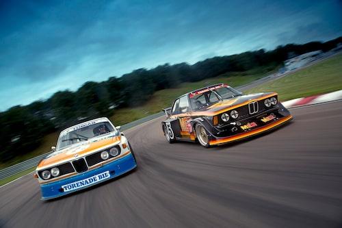 De tävlade aldrig mot varandra, men dessa bilar får vilken kurva som helst att se fantastisk ut.
