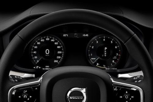 Förarmiljön, den viktigaste delen, ser ut så här i nya Volvo S60 och V60.