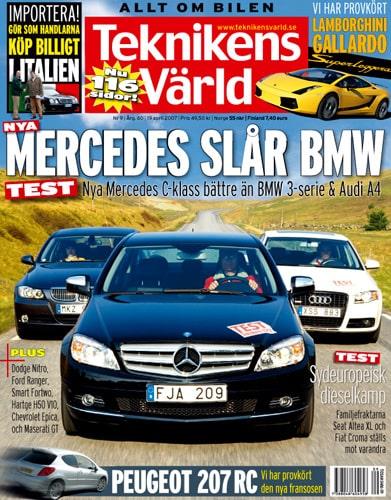 Teknikens Värld nummer 9 / 2007