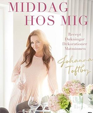 Boken Middag hos mig är en fortsättning på Johannas självbiografi.