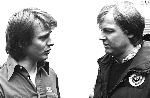 Eje Elgh och Ronnie Peterson.