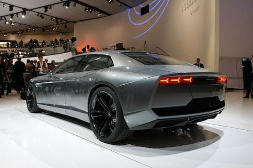 Konceptet Lamborghini Estoque visades upp 2008.