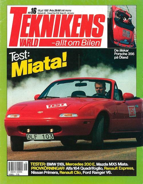 Teknikens Värld nummer 16/1990.