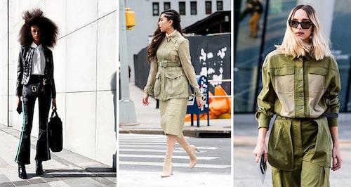 Workwear-trenden är extra het i år – satsa gärna på jackor i jordnära toner. En klassisk skinnjacka går i sin tur alltid hem.