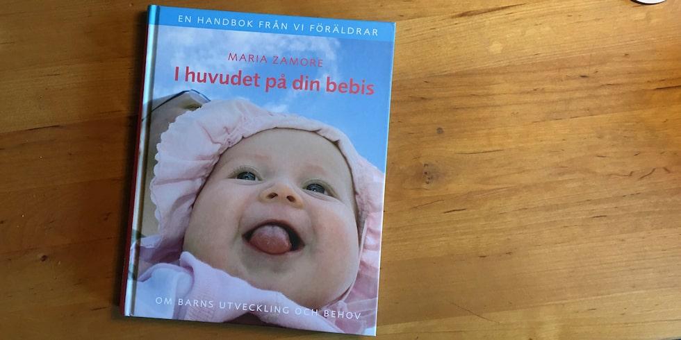 """Boken """"I huvudet på din bebis"""" av Maria Zamore"""