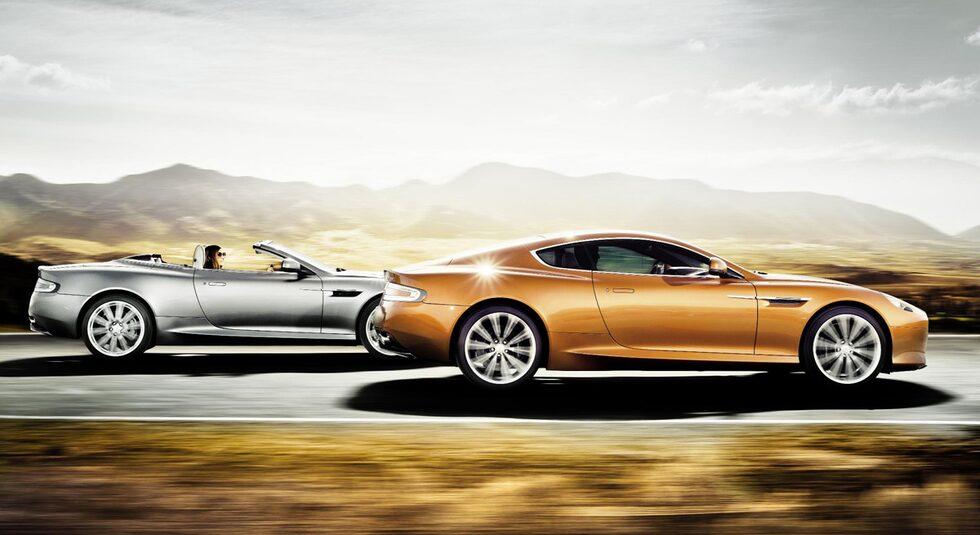 Aston Martin Virage Volante och Virage Coupé