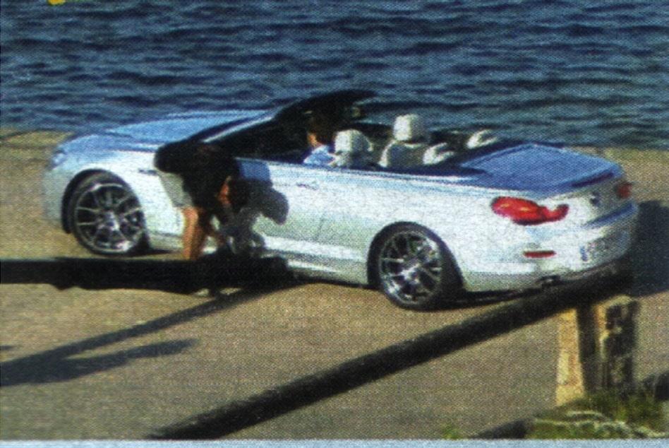 Originalfotot av nya BMW 6-serie Cabriolet